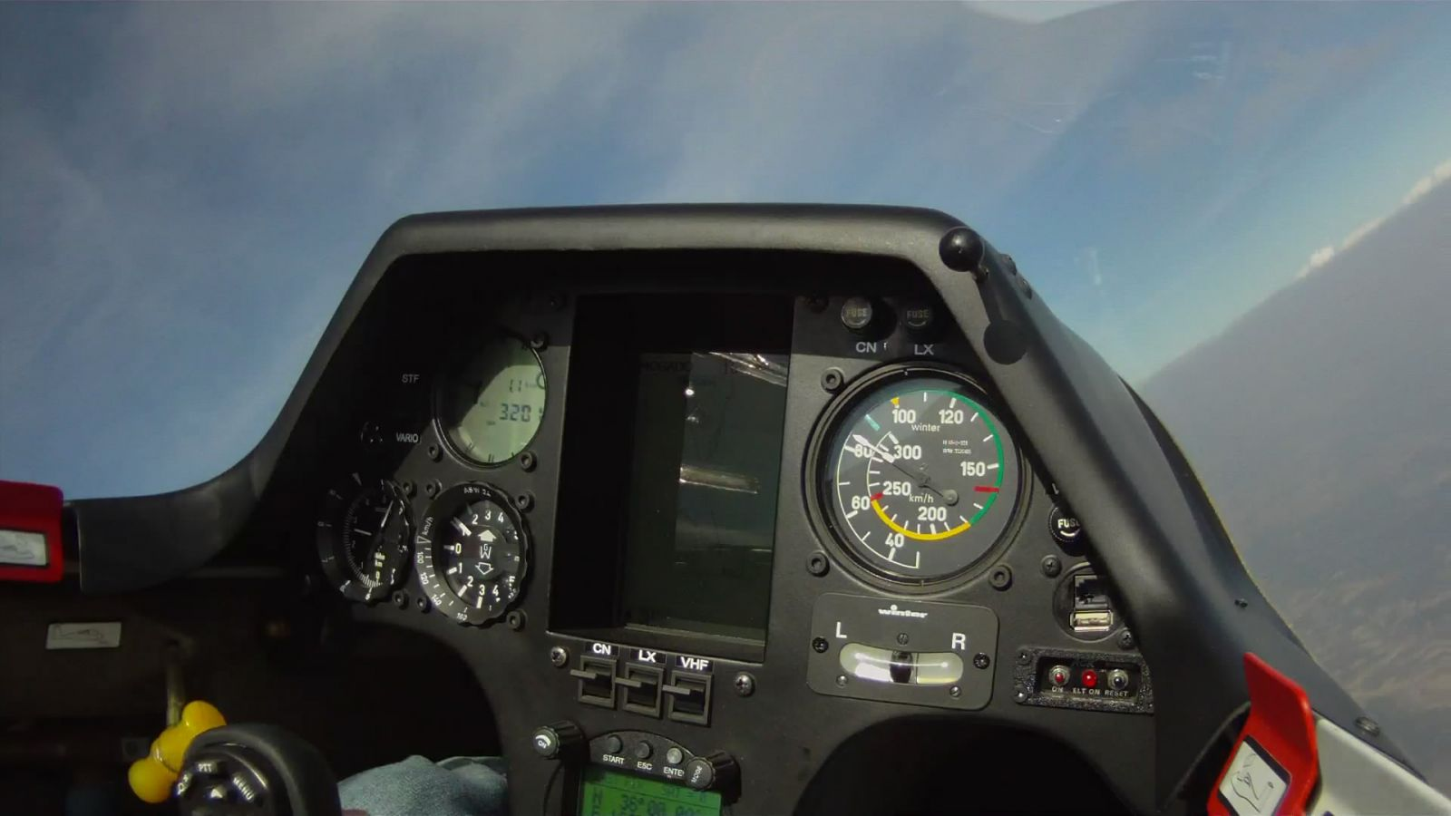 Cockpit ASW24